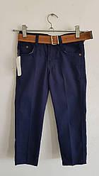 Джинсы- брюки синий  5-6 лет Akyilmaz ( рост 110)