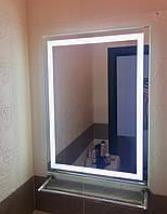 Влагостойкое Зеркало с LED подсветкой 500 х 700