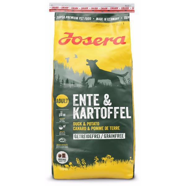 Корм для собак Josera Ente&Kartoffel  15 кг с уткой и картошко