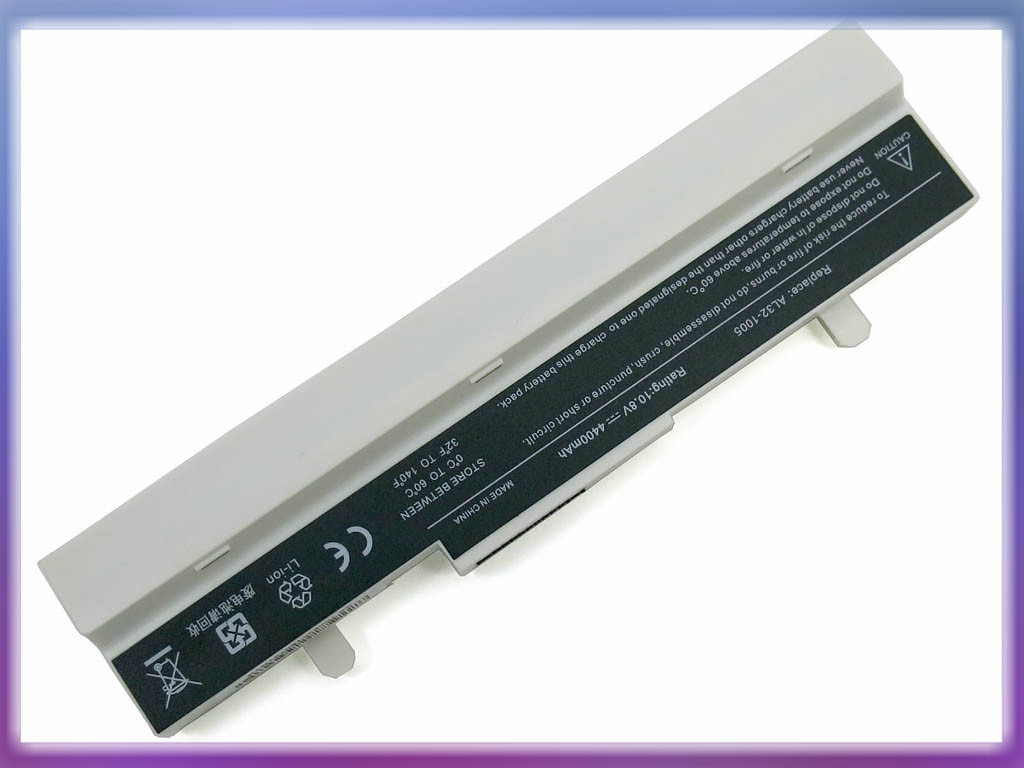 Батарея ASUS AL32-1005 Eee PC R105 10.8V 4400mAh 6Cell White