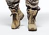 Берцы армеские  тактические бежевые летние   с боковой змейкой  Rotcho   США - размер 13 (46), фото 8
