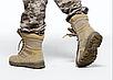 Берцы армеские  тактические бежевые летние   с боковой змейкой  Rotcho   США - размер 13 (46), фото 9