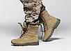 Берцы армеские  тактические бежевые летние   с боковой змейкой  Rotcho   США - размер 13 (46), фото 10