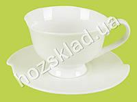 "Чашка с блюдцем ""Хорека"" (чашка-110мл, блюдце-11,5см)"