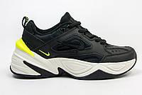 Кроссовки Nike MK2 Tekno Black/White. Живое фото (Топ реплика ААА+)