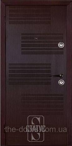 Дверь входная Статус металлическая модель Х218