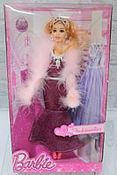 Кукла типа Барби в вечернем платье, в коробке 33*6,5*18,5 см.
