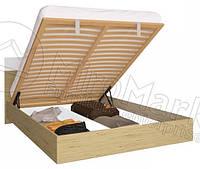 Кровать с подъемным механизмом Sonata / Соната MiroMark 180х200 сан марино / белый глянец