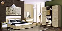 Спальня Sonata / Соната MiroMark сан марино / белый глянец
