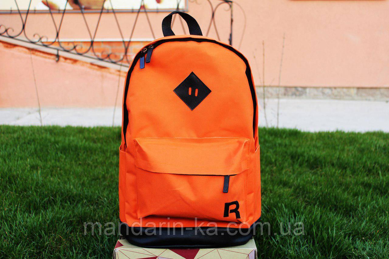 Рюкзак городской Reebok Рибок  оранжевый  (реплика)