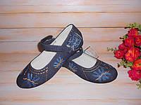 Джинсовые туфли на девочку р31,32,35 ТМ Шалунишка