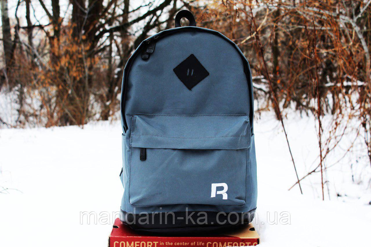 Рюкзак городской Reebok Рибок серый   (реплика)