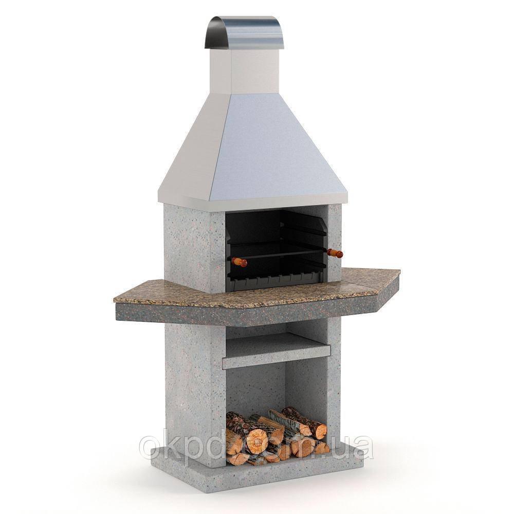 Садовый камин - барбекю Stimex Steel BMU