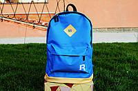 Рюкзак городской Reebok Рибок  синий  (реплика)