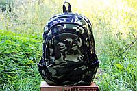 Рюкзак городской  камуфляж  мультикам