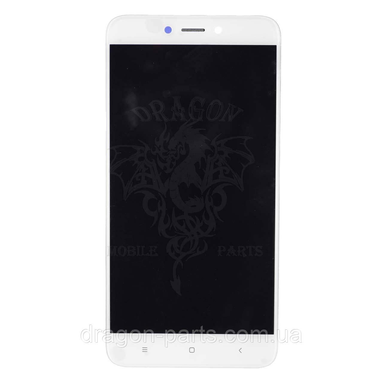 Дисплей Xiaomi Redmi 4X з сенсором і рамкою Білий White оригінал