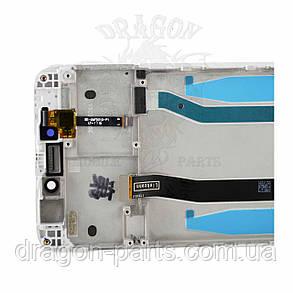 Дисплей Xiaomi Redmi 4X з сенсором і рамкою Білий White оригінал, фото 2