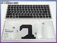 Клавиатура LENOVO IdeaPad U410 ( RU Black с рамкой). Оригинальная клавиатура. Русская раскладка.