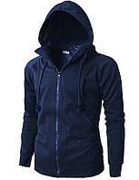 Стильное худи в стиле Assassin's Creed с капюшоном Синяя, Размер XL