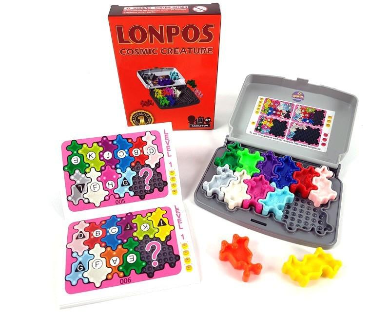 Игра головоломка Lonpos Cosmic Creature (Лонпос Космические существа)