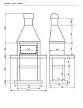 Садовый камин - барбекю Stimex Steel BLU комплект, фото 2