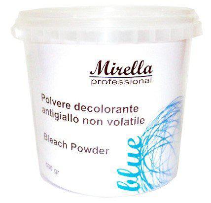 Осветляющая антижелтая пудра для волос Mirella Professional Blue Bleach Powder  500г