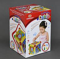 Музична розвиваюча іграшка «Логічний куб»