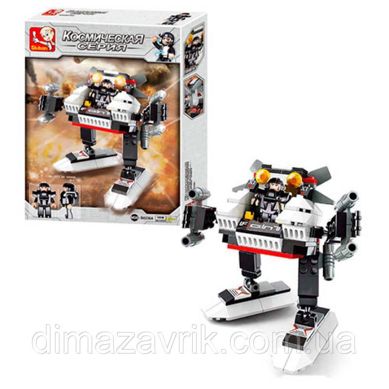 Конструктор SLUBAN M38-B0336A Робот 108 деталей