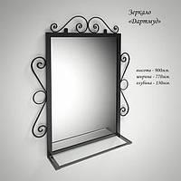 """Изящное зеркало ДАРТМУД в металлическом обрамлении, производитель фабрика мебели """"TENERO"""""""