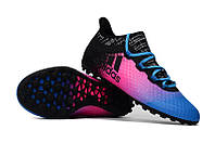 Футбольные сороконожки adidas X Tango 16.1 TF Shock Pink/Core Black/Blue, фото 1