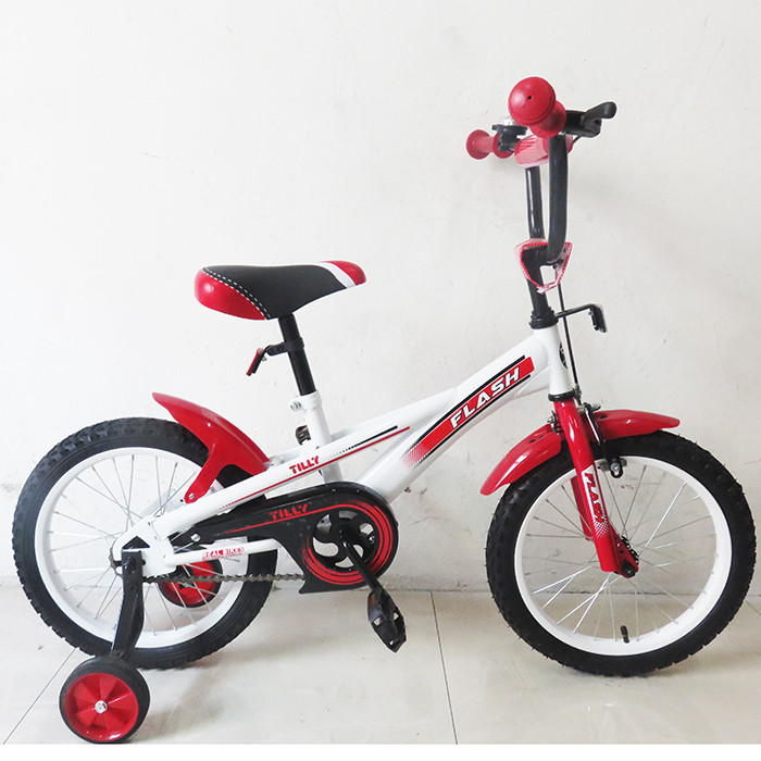 """Велосипед TILLY FLASH 16"""" Red, T-21644"""