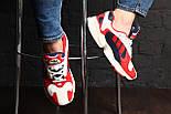 """Кроссовки Adidas Yung 1 """"Red/Blue"""". Живое фото. (Топ реплика ААА+), фото 4"""