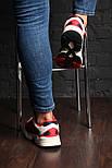 """Кроссовки Adidas Yung 1 """"Red/Blue"""". Живое фото. (Топ реплика ААА+), фото 6"""
