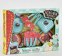 Набір дитячої іграшкової посуду