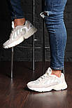 """Кроссовки Adidas Yung 1 """"White/Grey"""". Живое фото. (Топ реплика ААА+), фото 4"""