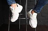 """Кроссовки Adidas Yung 1 """"White/Grey"""". Живое фото. (Топ реплика ААА+), фото 6"""
