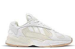 "Кроссовки Adidas Yung 1 ""White/Grey"". Живое фото. (Топ реплика ААА+)"