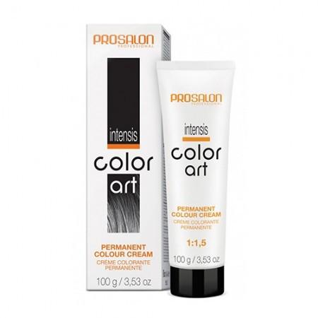 Крем-краска для волос Intensis Color Art,  PROSALON 100мл. Цвет: 7/4 B Золотисто-каштановый