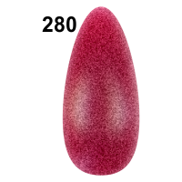 MN-07 Лак маникюрный (Matt colors) (уп-12) № 280