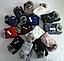 Комплект шапка с бубоном и хомут зимний м 6073, разные цвета, фото 4