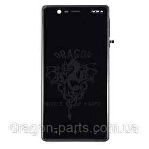 Дисплей Nokia 3 Dual Sim с сенсором TA-1032 Черный Black, оригинал, фото 2