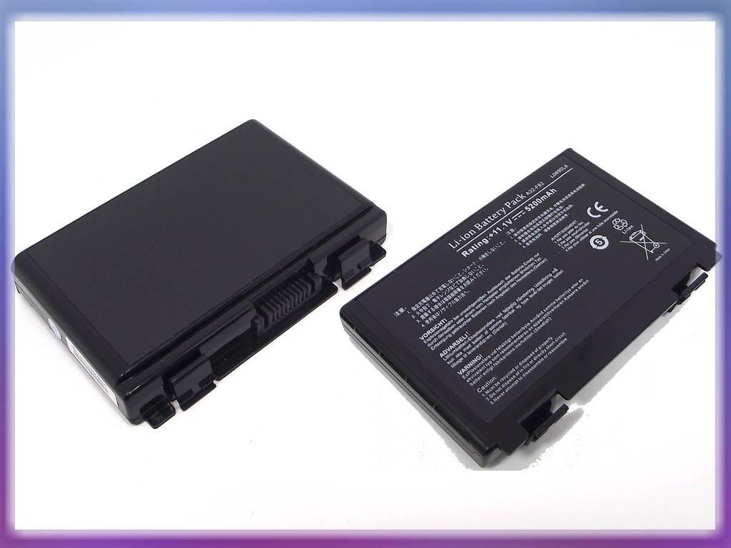 Аккумулятор ASUS (A32-F82) K50 (11.1V 5200mAh, Sanyo Cell). Black