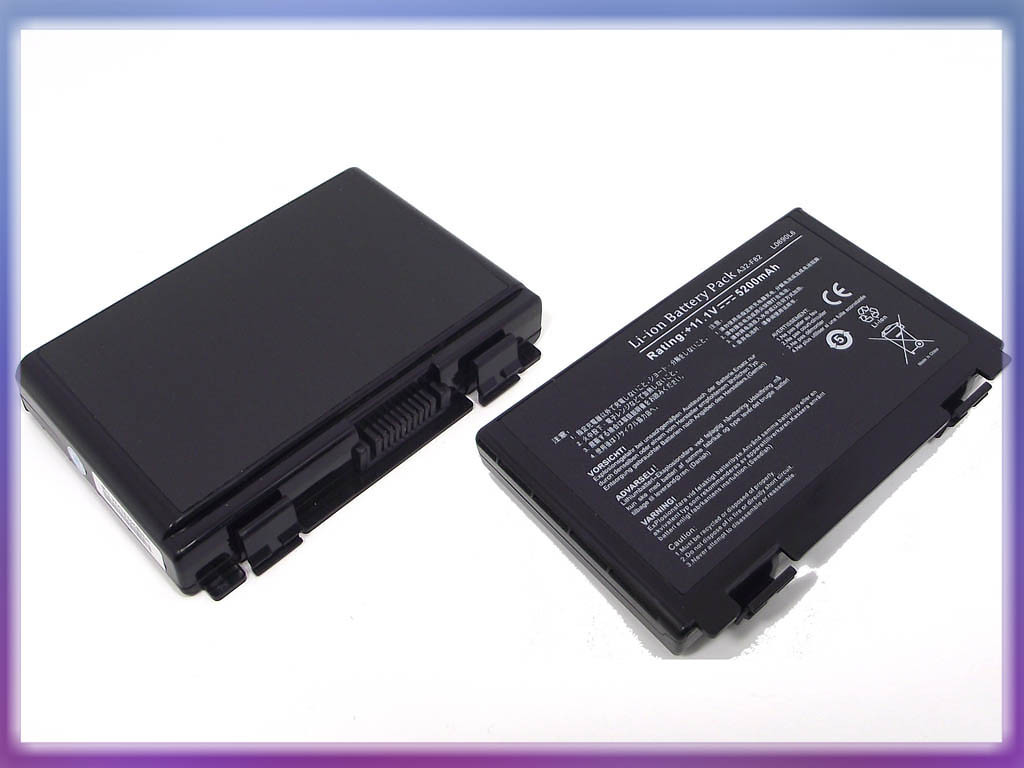 Батарея ASUS (A32-F82) K50 (11.1V 5200mAh, Sanyo Cell). Black
