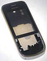 Корпус Nokia 202 полный белый/золото High Copy