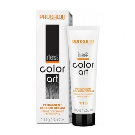 Крем-краска для волос Intensis Color Art,  PROSALON 100мл. Цвет: 8/66 Огнено- красный