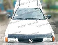 Мухобойка +на капот  VW CADDY с 1996-2004 г.в. (Фольксваген Кадди) Vip Tuning