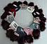 Шапка вязаная для девочки с помпонами GIRL кашемир, разные цвета, фото 6