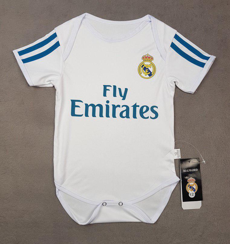 """Детский бодик """"Реал Мадрид""""  сезон 2017/18"""