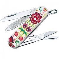 Нож складной, мультитул Викторинокс Victorinox CLASSIC Rooster Happy Folks (58мм, 7 функций), 0.6223.L1603, фото 1