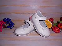 Туфли для девочки р20-25 ТМ Clibee, Румыния с мигалками на пятке